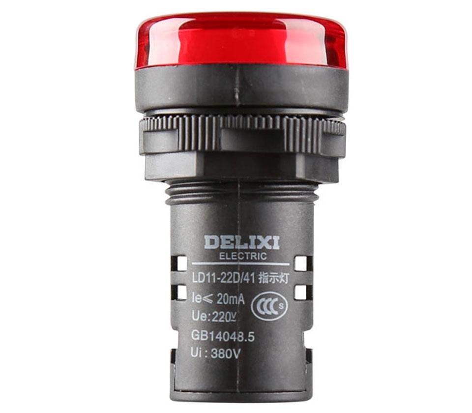 指示灯 LD11-22D AC 220V 红