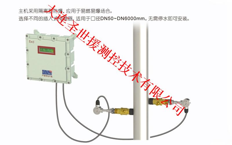 TUF-2000大连插入式超声波流量计生产批发SSY