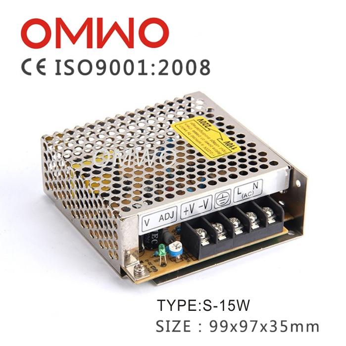 明维S-15-24 24V0.7A单组输出开关电源