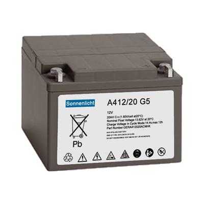 德国阳光蓄电池Sonnenschein A412/20G5 12V20AH