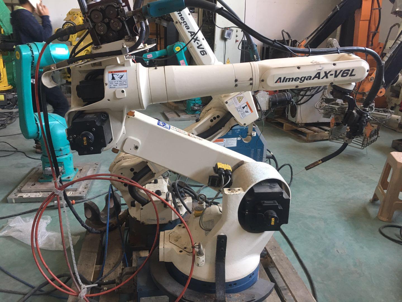 OTC焊接机器人法兰焊接机器人 汽车架焊接机械手
