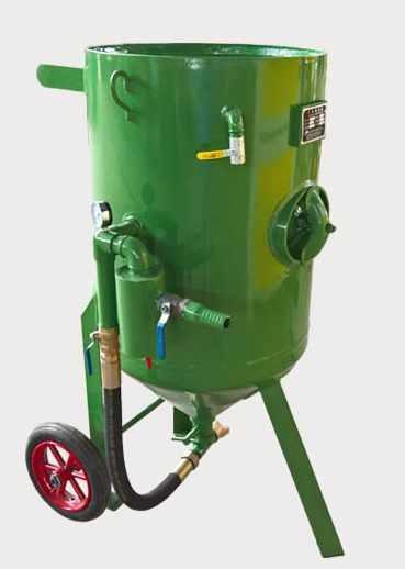 桶式小型手动喷砂机