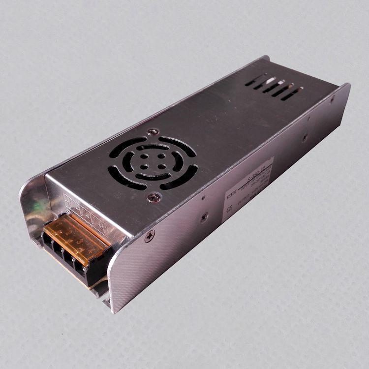 照明安防通讯设备电源24v400W长条型开关电源 24V长条开关电源