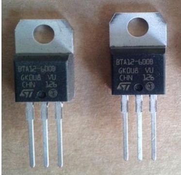 原装ST可控硅BTA12-600B,BTA12600B