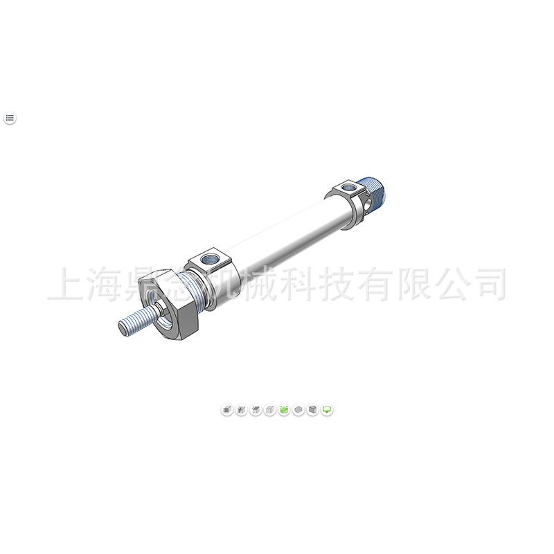 FESTO费斯托 圆形标准气缸DSNU-25-100-PPS-A