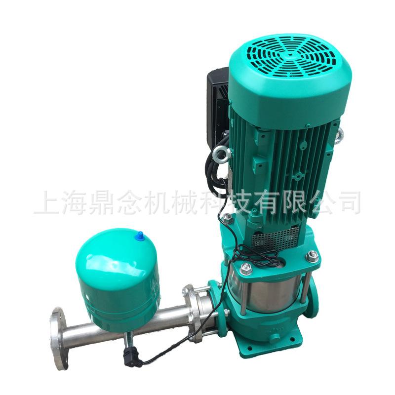 威乐变频泵MVI803立式叶轮不锈钢恒压变频给水泵组无塔供水泵