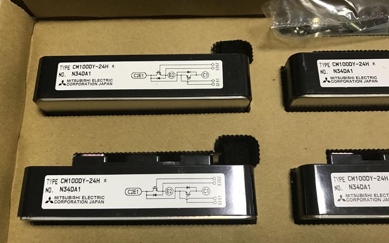 高频电源专用三菱IGBT模块原装现货CM100DY-24A