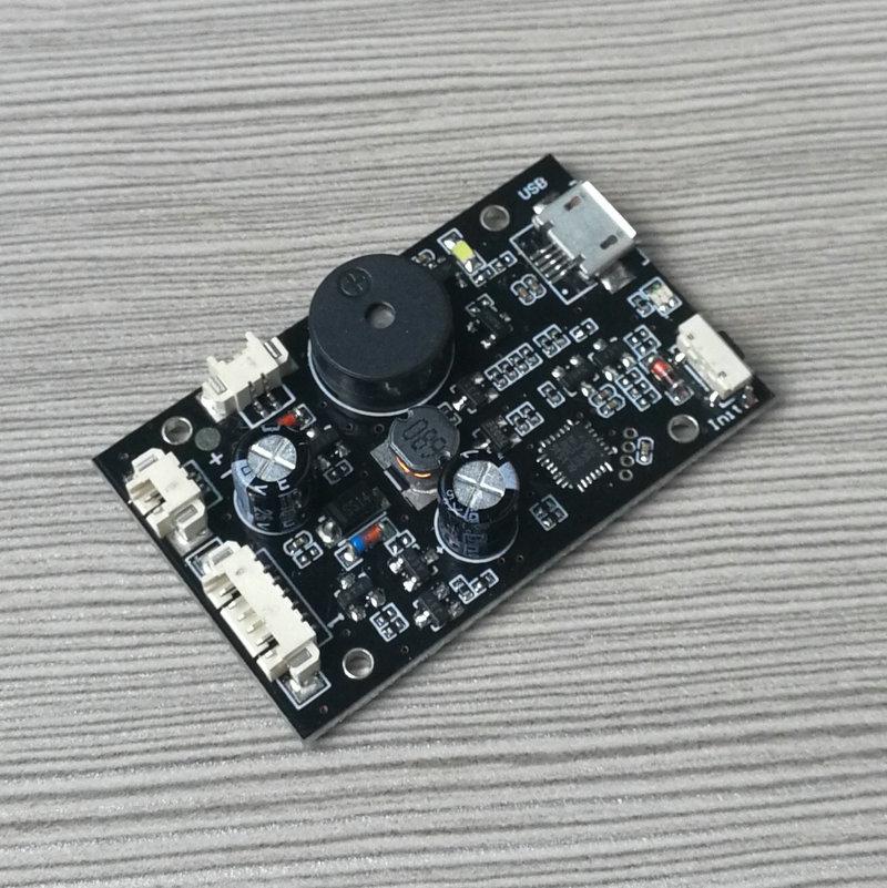 K218指纹控制板 输出接电磁铁 锂电池供电 带充电接口