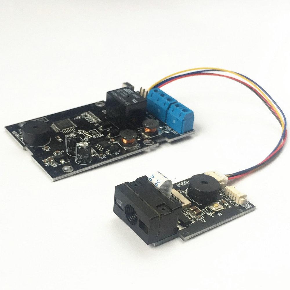 K216M条码扫描控制电路板 二维码门禁控制板 输出继电器时间可调