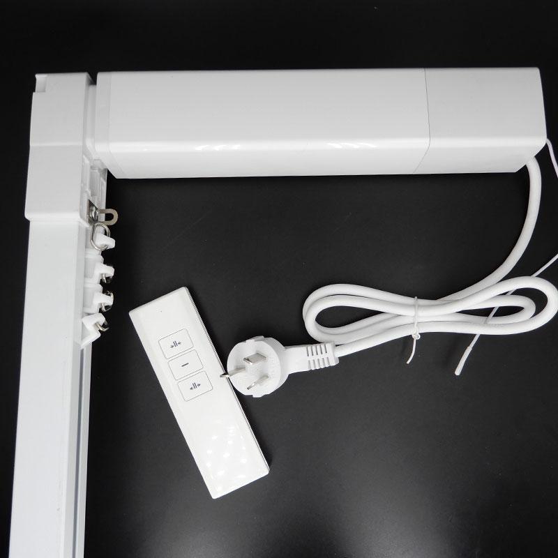 电动窗帘 自动远程遥控控制遮光窗帘 批发智能家居开合电机窗帘