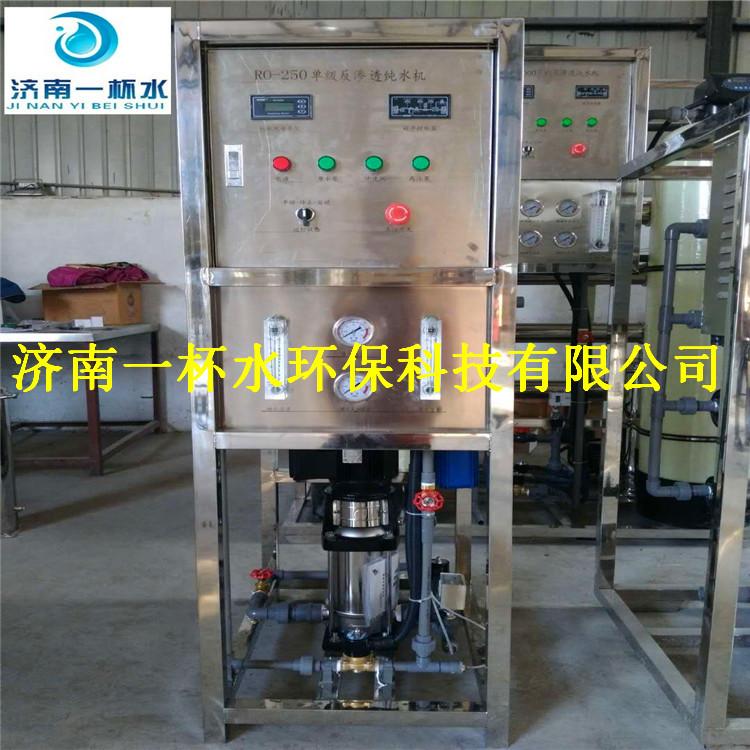 济南鑫鼎纯0.25吨/小时单机反渗透设备  纯水机设备  商用机设备