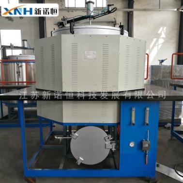 厂家直供φ1000*1200电磁感应真空清洗炉大容量节能型真空煅烧炉