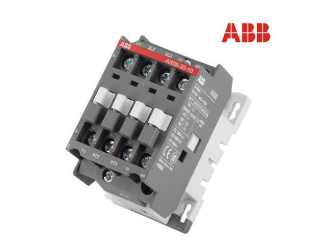 供应ABB 原装正品交流接触器 AX09-30-10  9A