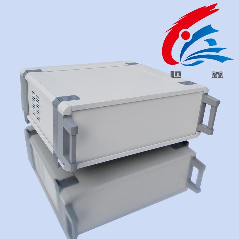 恒鑫机箱 JX-H型 仪表机箱仪器铝外壳 DIY铝合金机箱壳体攻放线路板型材工控机箱定制