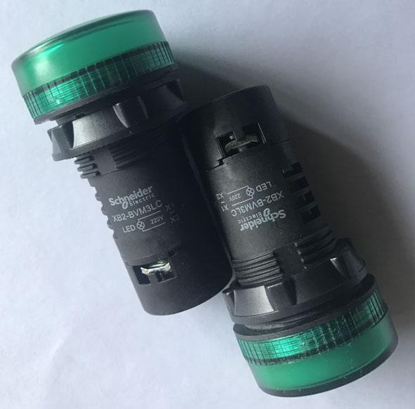 施耐德Schneider 绿色指示灯 XB2-BVM3LC 信号灯 红色指示灯XB2-BVM4LC