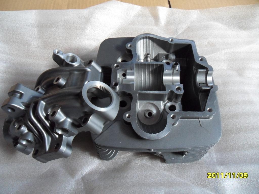 GXT200越野摩托车汽缸头总成,QM200GY缸头组合