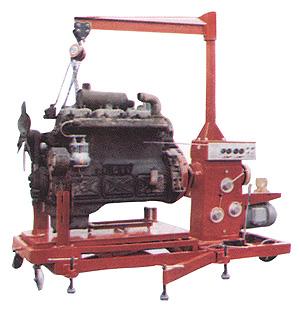 汽车发动机综合作业机