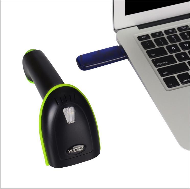 定制一维激光无线扫描枪蓝牙扫描器二维条码扫描枪二维蓝牙扫码枪