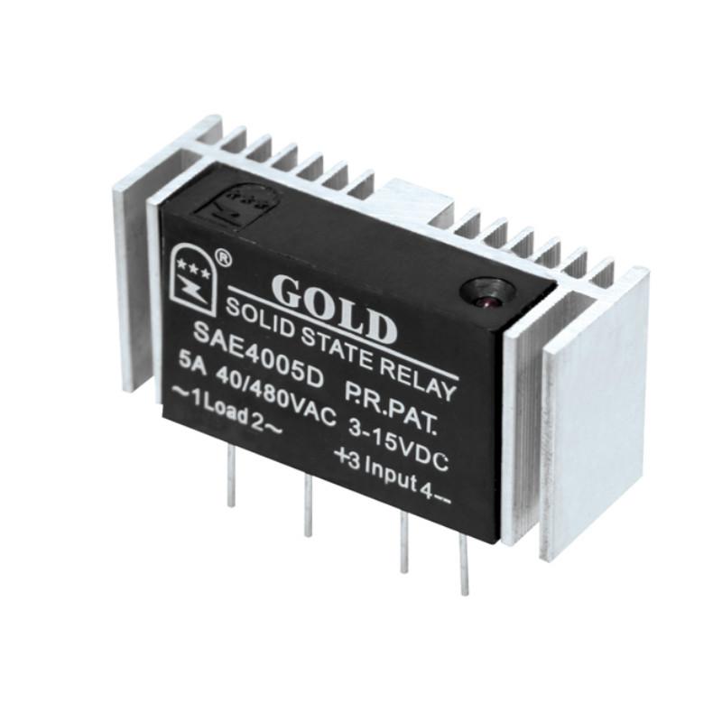 【小型固态继电器】交流直插式ssr继电器SAI2404D 固特厂家直销