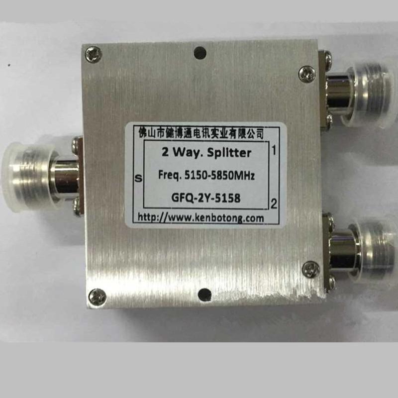 健博通 5.8G一分二功分器-室外防水型网桥用GFQ-2Y-5158