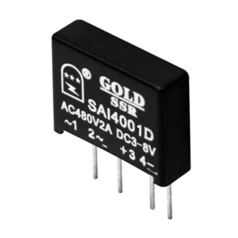 【小型固态继电器】交流直插式ssr继电器SAI4004D 固特厂家直销