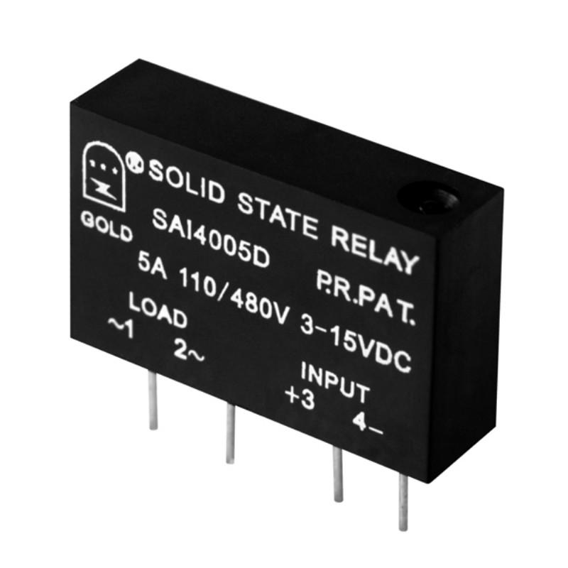 【小型固态继电器】直插式ssr继电器SAQ2408D 固特厂家直销