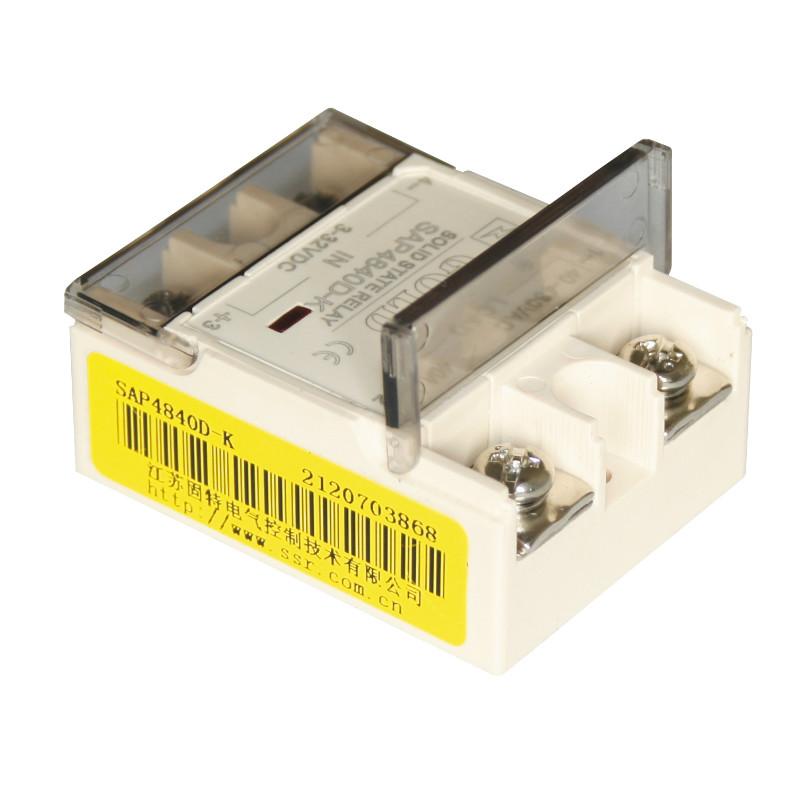 【高效节能(低功耗)SSR】单相固态继电器 SAP4890D-K(翻盖式) 固特厂家直销