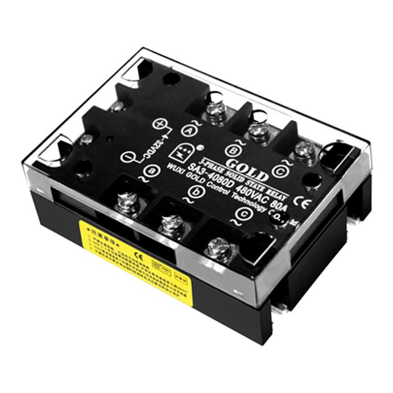 【三相工业级固态继电器】SA34080D 固特厂家自行研发生产