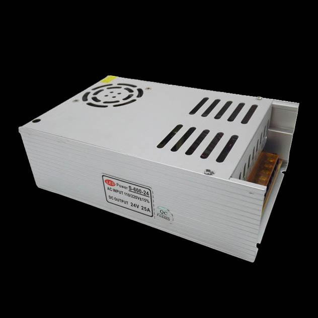 24V 25A工业开关电源24V 600W大功率开关电源价格LED工业用电源厂