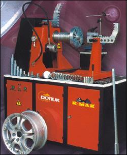 铝合金钢圈修复机