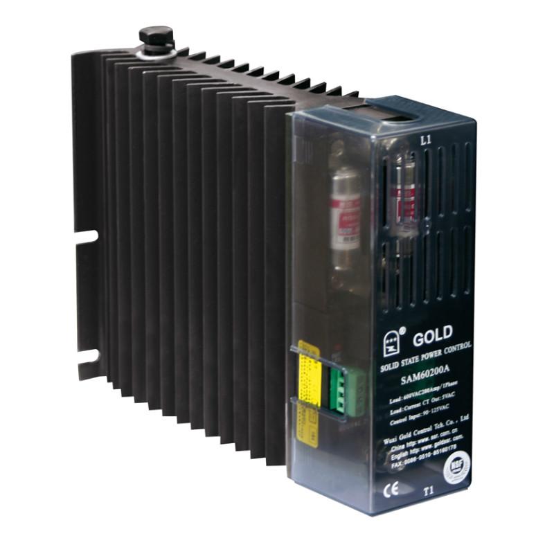 SSR散热一体固态继电器SAH(G3PA)4825D窄