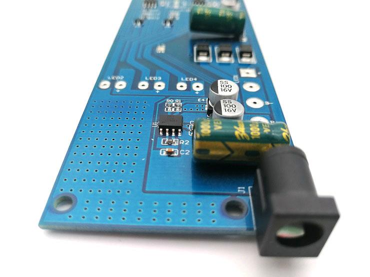 现货LED化妆镜台灯电路板批发 三段调光功能 触摸调光控制板方案