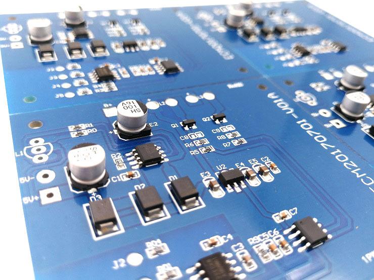 LED触摸台灯线路板批发 三段调光功能 双色温触摸台灯PCBA控制板