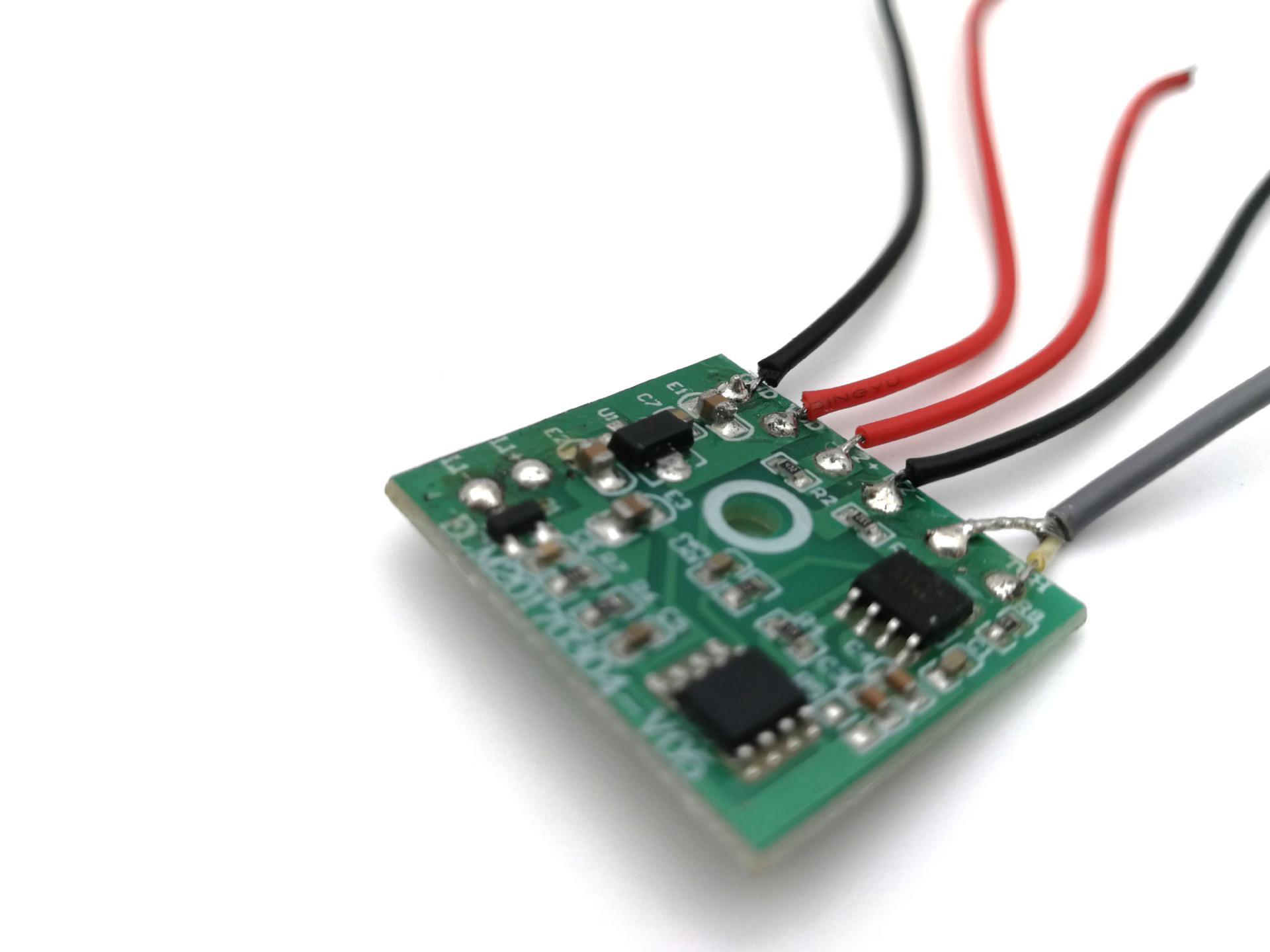 现货LED触摸台灯控制板批发 三挡触摸调光 LED化妆镜触摸调光PCBA
