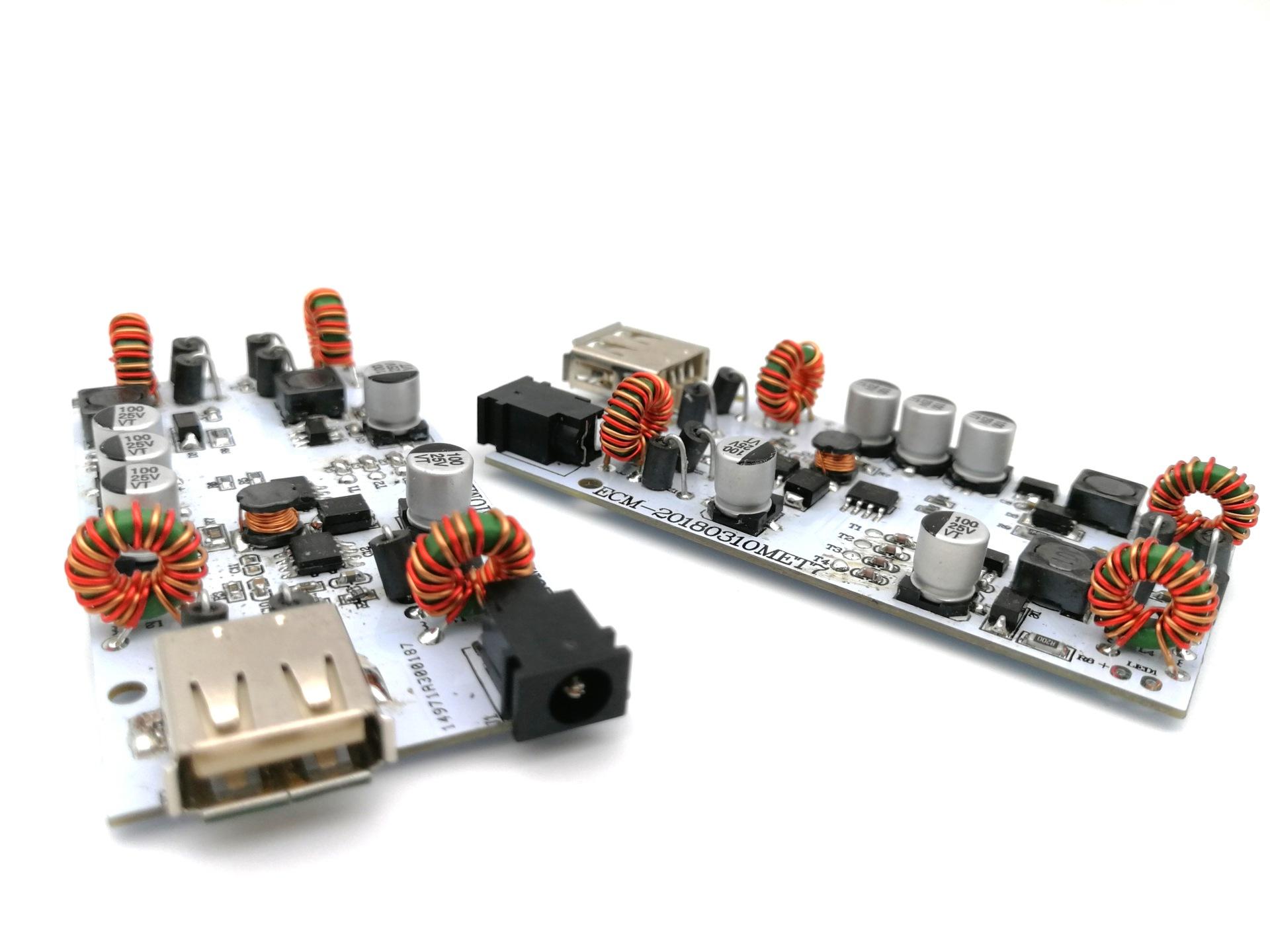 现货USB触摸台灯控制板 5级触摸调光功能 四键触摸PCBA方案开发