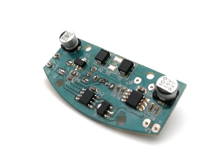 现货LED充电台灯锂电池充电板批发 三段调光功能 触摸台灯控制板