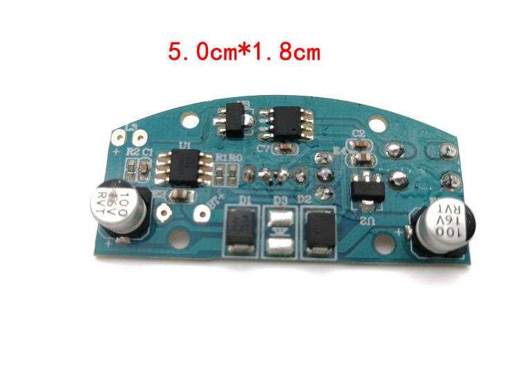 现货可充电触摸LED台灯控制电路板批发 三档调光 usb台灯电路板