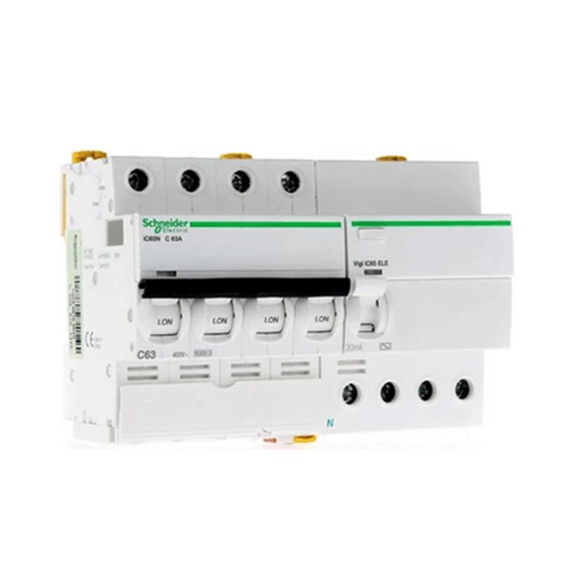 施耐德漏电保护器 IC65N 4P/C10A~C63A三相四线漏电断路 漏电开关