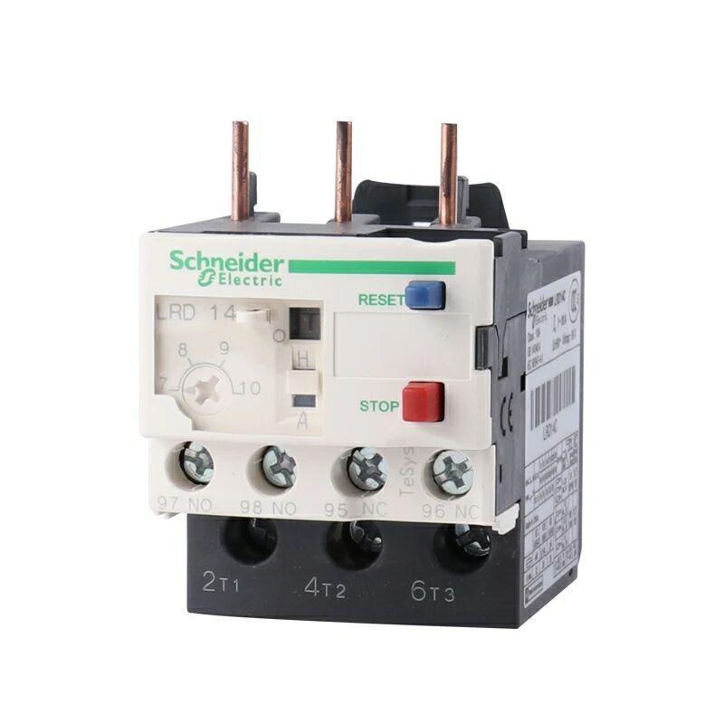 施耐德继电器 TeSys LRD国产 热过载继电器 LRD14C 电流 7-10A