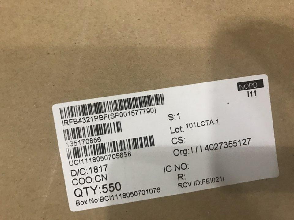 现货供原装场效应管IRFB4321PBF