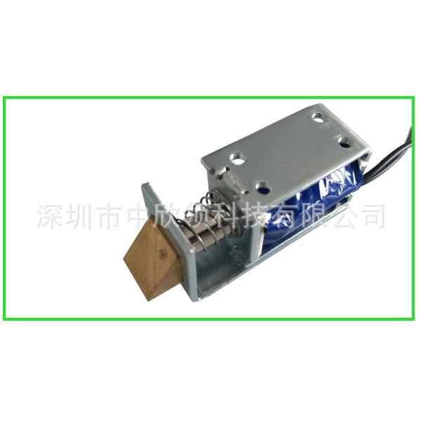 电磁铁锁HIO-0730L-5V锁自动门锁箱柜锁保险柜锁存储柜锁