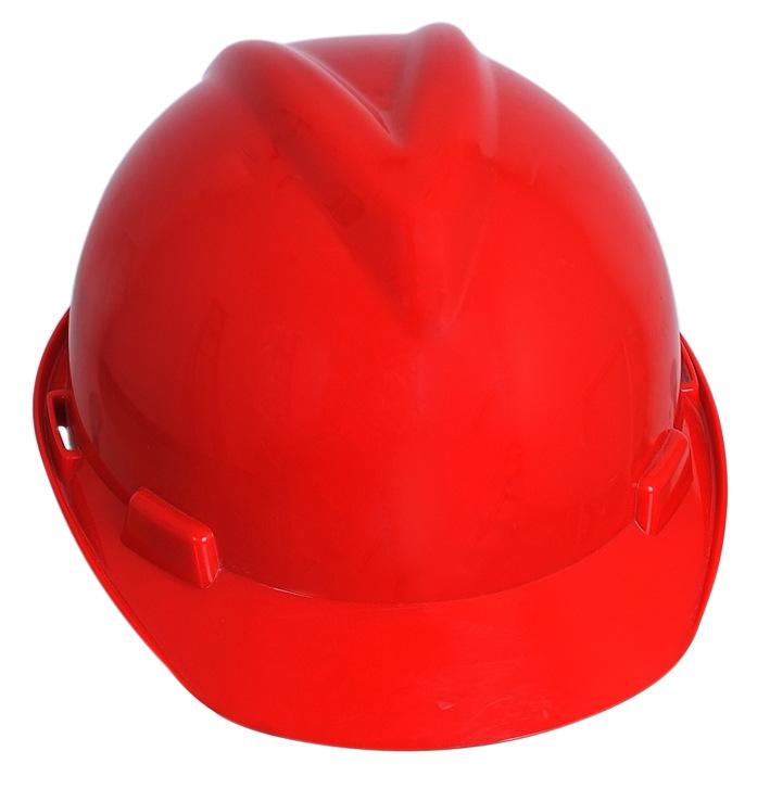 进口ABS V型透气安全帽建筑工地批发 防砸劳保防护头盔 厂家直销