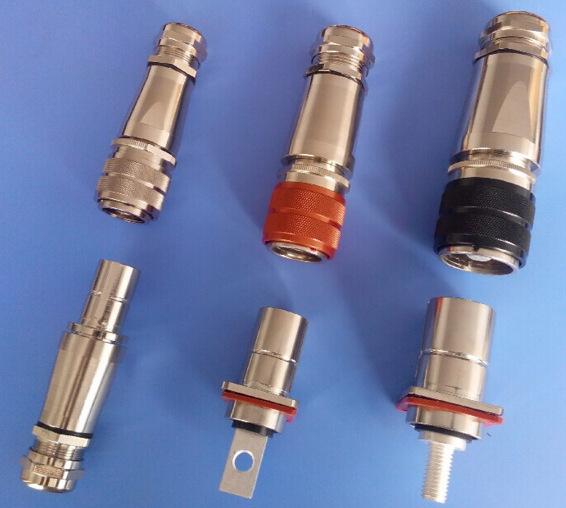 厂家直销 新能源电动汽车充电枪接插件 大电流高压连接器针孔端子