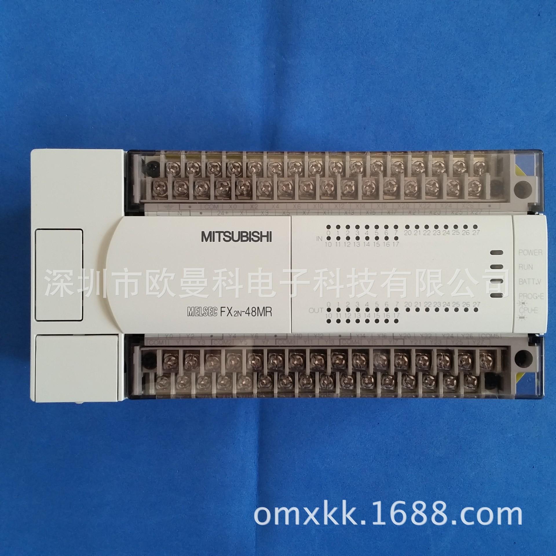 热卖三菱PLC FX2N-48MT-D Mitsubishi可编程控制器 深圳PLC