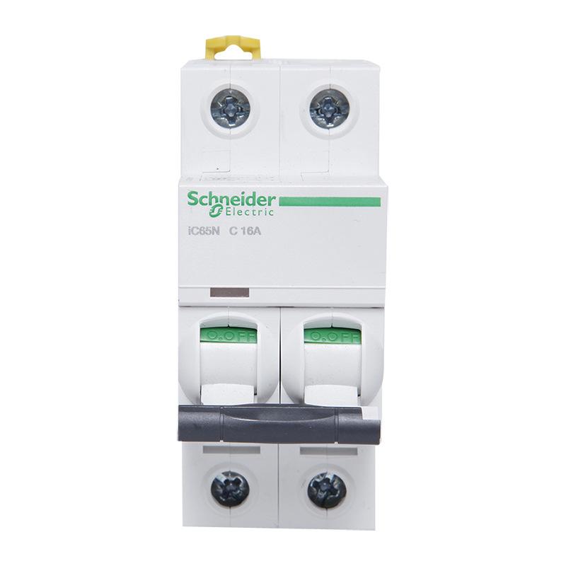 施耐德漏电断路器 iC65N系列 2P/C16A 漏电开关一体 漏电保护器