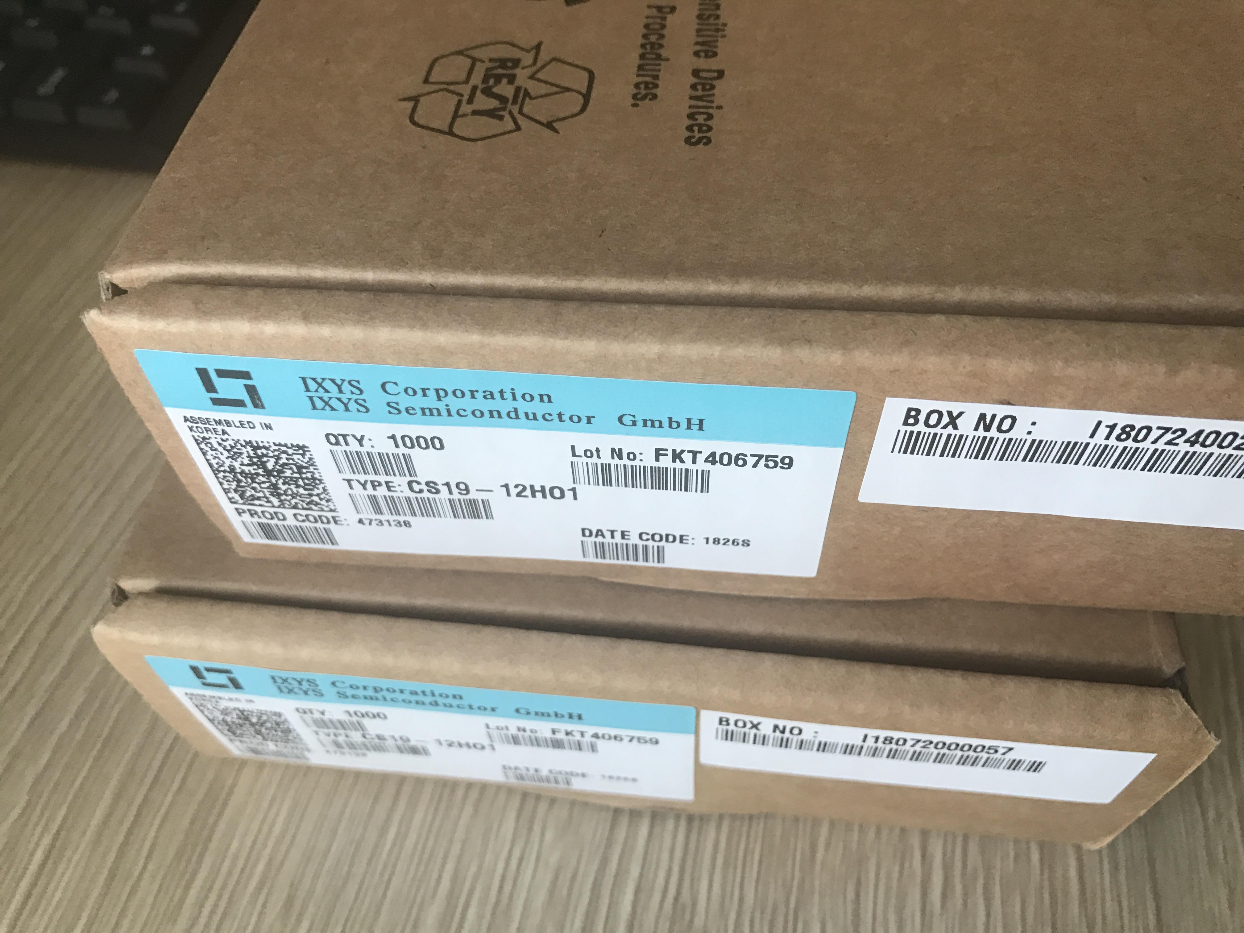 单向可控硅Cs19-12ho1,cs19-12, cs19, S8055r