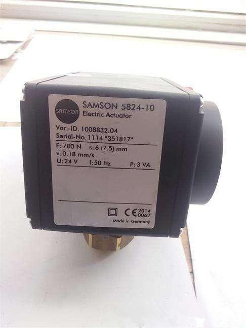 5824-10 现货SAMSON萨姆森 电动执行器
