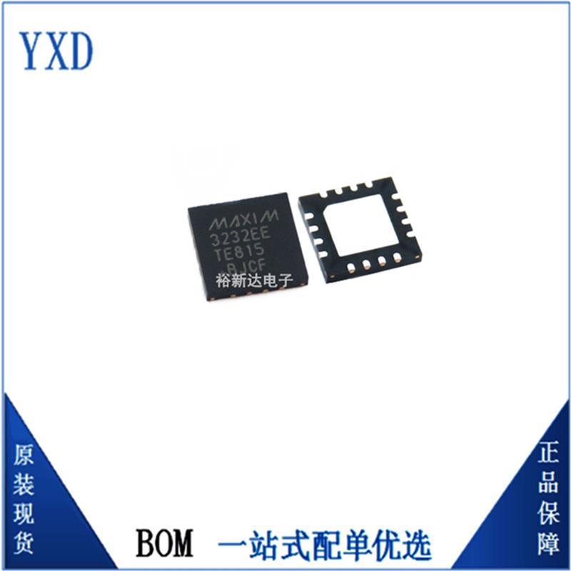 Maxim美信 MAX3232EETE+全新原装接口集成电路ic