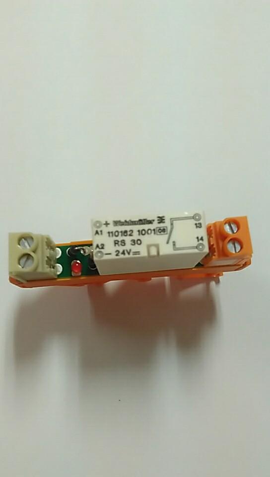 魏德米勒触点继电器RS 30 240VAC LD LP 1A