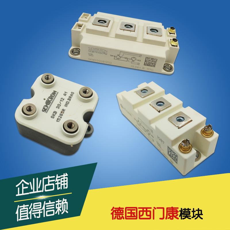 全新原装正品西门康IGBT模块SKM100GAL12T4/123D/124D/128D/12V  SKM75GAL12T4/123D/124D/128D/12V现货直销